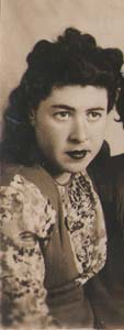 Броня Левина. 1949 г.