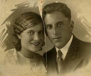 Борис Ефимович Гуткович и Лидия Антоновна Жукова.