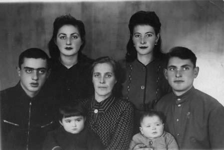 Семья Шейниных.