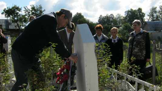 70 лет трагедии евреев Богушевска.