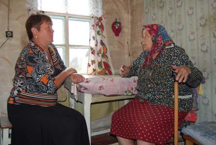 Вера Васильевна Изосимова и Вера Петровна Логунова.