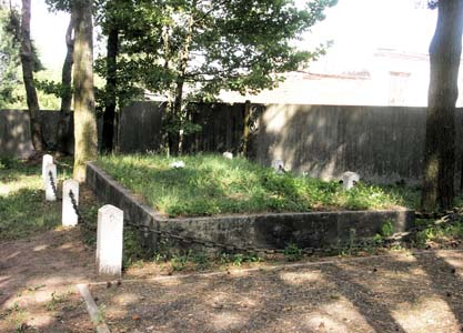 Mass grave of Opsa ghetto victims. Photo taken in 2008.