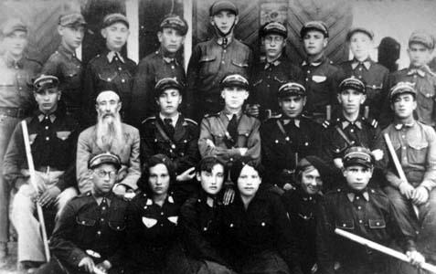 Cустрэча актывістаў «Бейтар» ў Браславе. 1936 г.