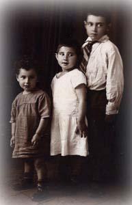 Шломо, Берта и Сара. Дети Ципоры.