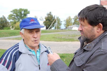 Интервью с Федором Усовичем (слева).