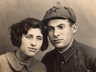 Хая Лунинская и Борис Альтман.