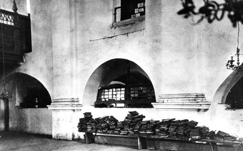Synagogue in Druya. Photo by Y. Bulgak. 1928.