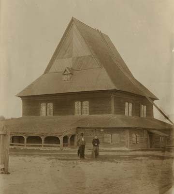 Одна из дубровенских синагог, 1905 г.