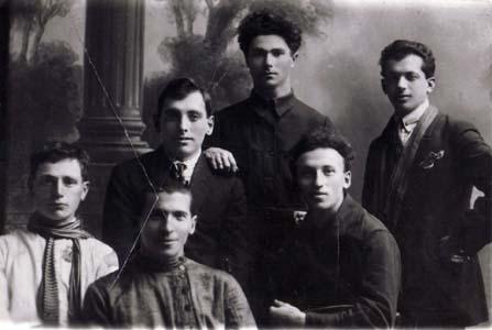 Григорий Хейфец с друзьями.