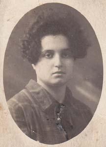 Бабушка Литвина (Лапатухина Зина Ароновна).