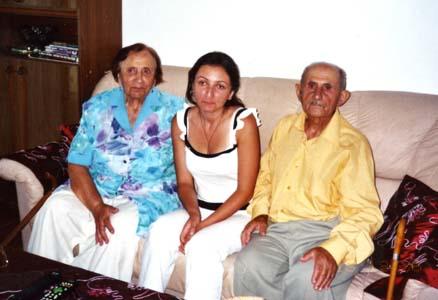 Брат и сестра Самуил и Галина.