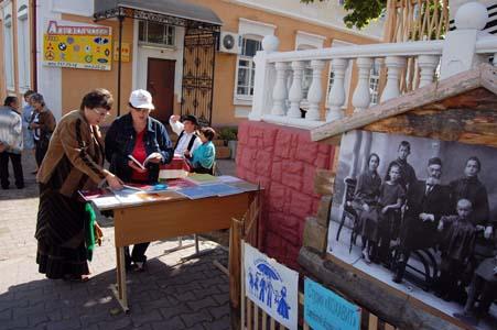 Еврейское подворье на Дне белорусской письменности. 2012 г.