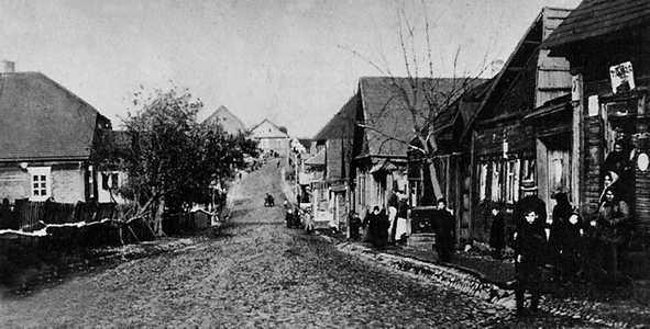 Глубокое. Улица Докшицкая. Фото 1915 г.