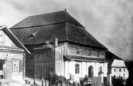 Синагога в Глубоком. Фото 20-х годов XX в.