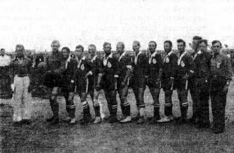 Чемпионат Польши по футболу. Команда г. Глубокое.