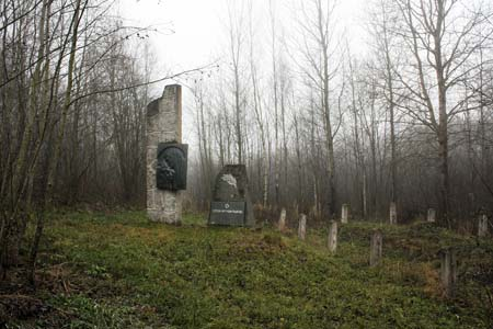 Памятник в Березовке