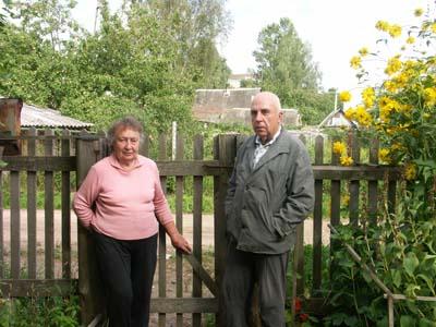 Рувим Кожевников с женой Евгенией.