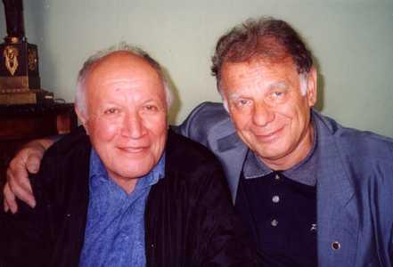 Александр Массарский и Жорес Алферов.