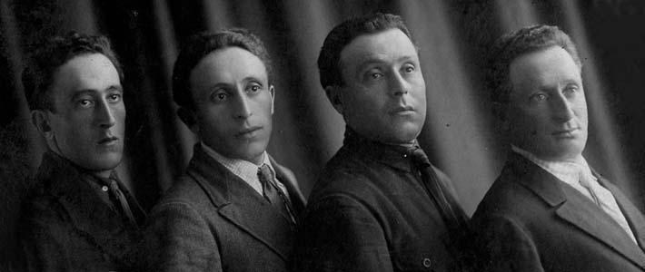 Savely Shulman's sons. Photo taken in 1925.