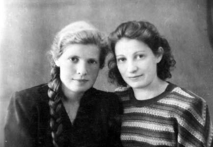 Ruvim's daughters – Lisa and Raya.