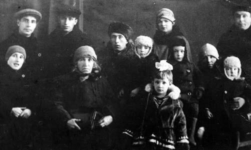 Семья Савелия Шульмана. Фото 1935 г.