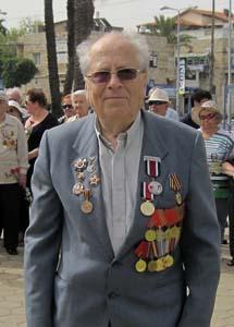 Борис Эфрос. 9 мая 2010 г.