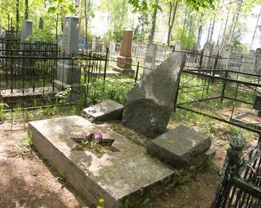 Памятник узникам яновичского гетто на витебском еврейском кладбище. Фото 2008г.