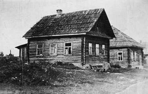 Дом, в котором жила семья Хаима Лившица.