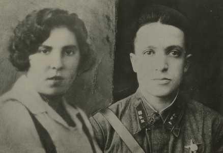 Роза Фурман (Шухман) с мужем Айзиком Фурманом.