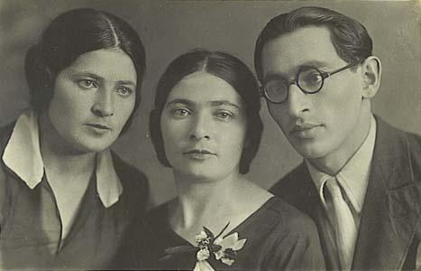 Сестры Дыкман Лиза, Хана и брат Михаил.