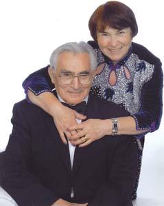 Владимир Дыкман с женой Лизой.