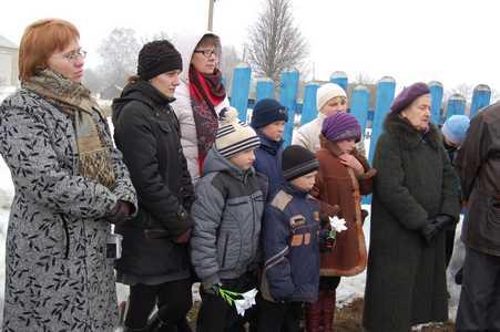 День памяти в Колышках.