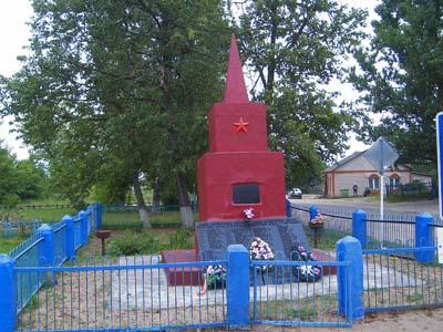 Кубличи. Памятник войнам Советской армии, погибшим в годы Великой Отечественной войны
