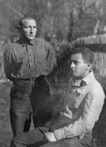 Яша и Аркадий Немцовы.