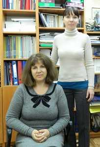 Елена Коган и Евгения Зимова.
