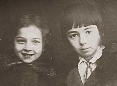 Маня Гиршик и Дора Коган.