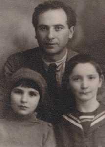Савелий Коган с Джеммой и Толиком.