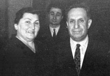 Давид с женой Ривой.