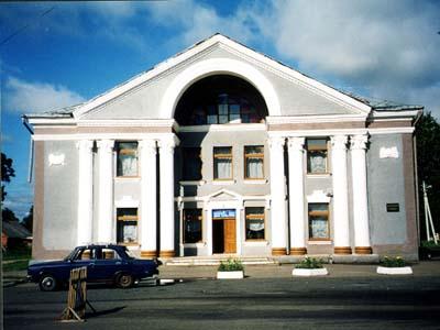 Лиозно. На этом месте стоял дом семьи Шагалов.