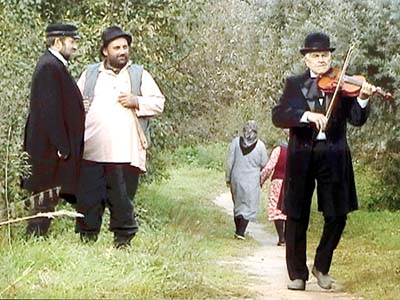Лиозно. Японские кинематографисты снимают фильм о Шагале.