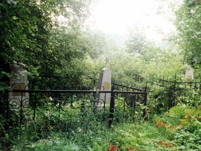 Лиозно. Еврейское кладбище.