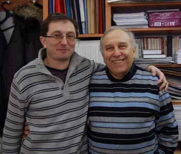 Игорь Матвеевич и Матвей Игоревич Ливщицы.
