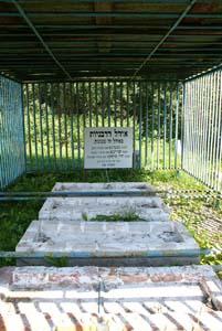 Огель на еврейском кладбище.