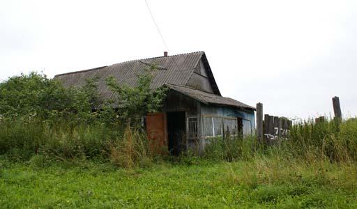 Дом,который был куплен хасидами. 2007 г.