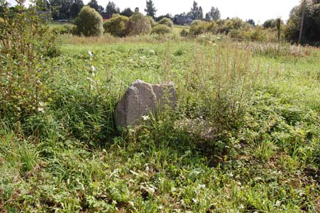 Старинное еврейское кладбище в Любавичах.