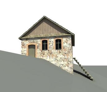 Праект рэстаўрацыі і аднаўлення будынку былой сінагогі.