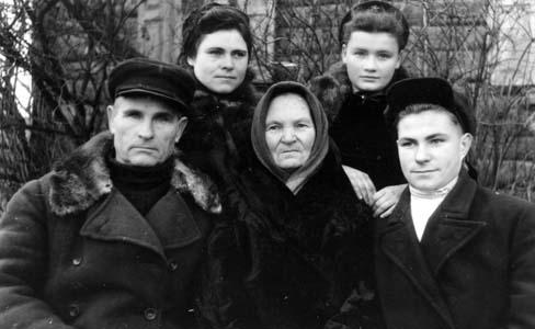 Семья Ружинских.