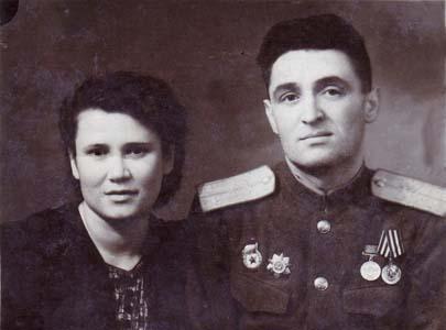 Эйдинова Ёха-Бася с мужем.