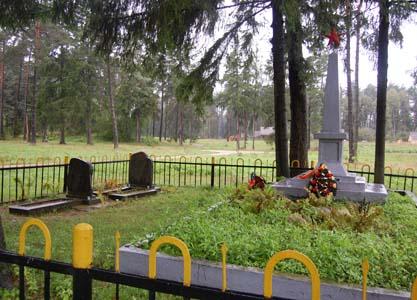 Памятник расстреляным евреям Лынтуп.