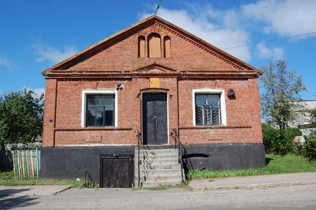 Миоры. Старый еврейский дом.